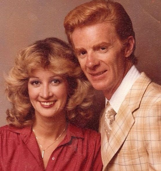 باب پراکتور و همسرش در جوانی