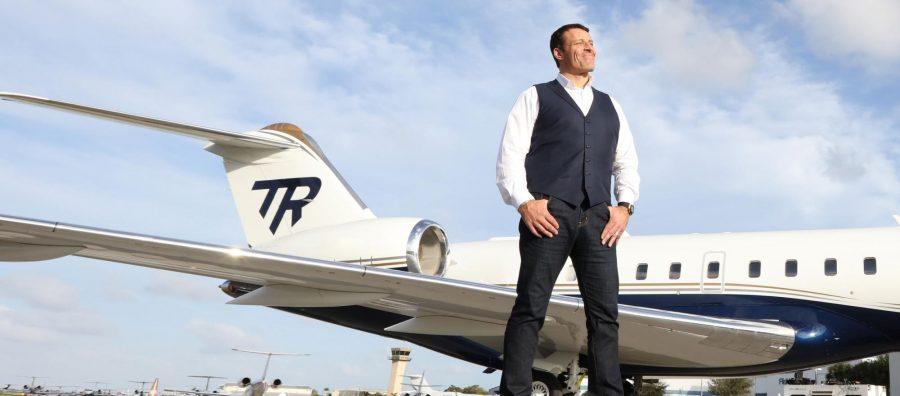 هواپیمای شخصی آنتونی رابینز
