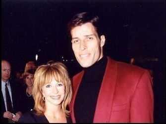 آنتونی رابینز در کنار همسر اولش