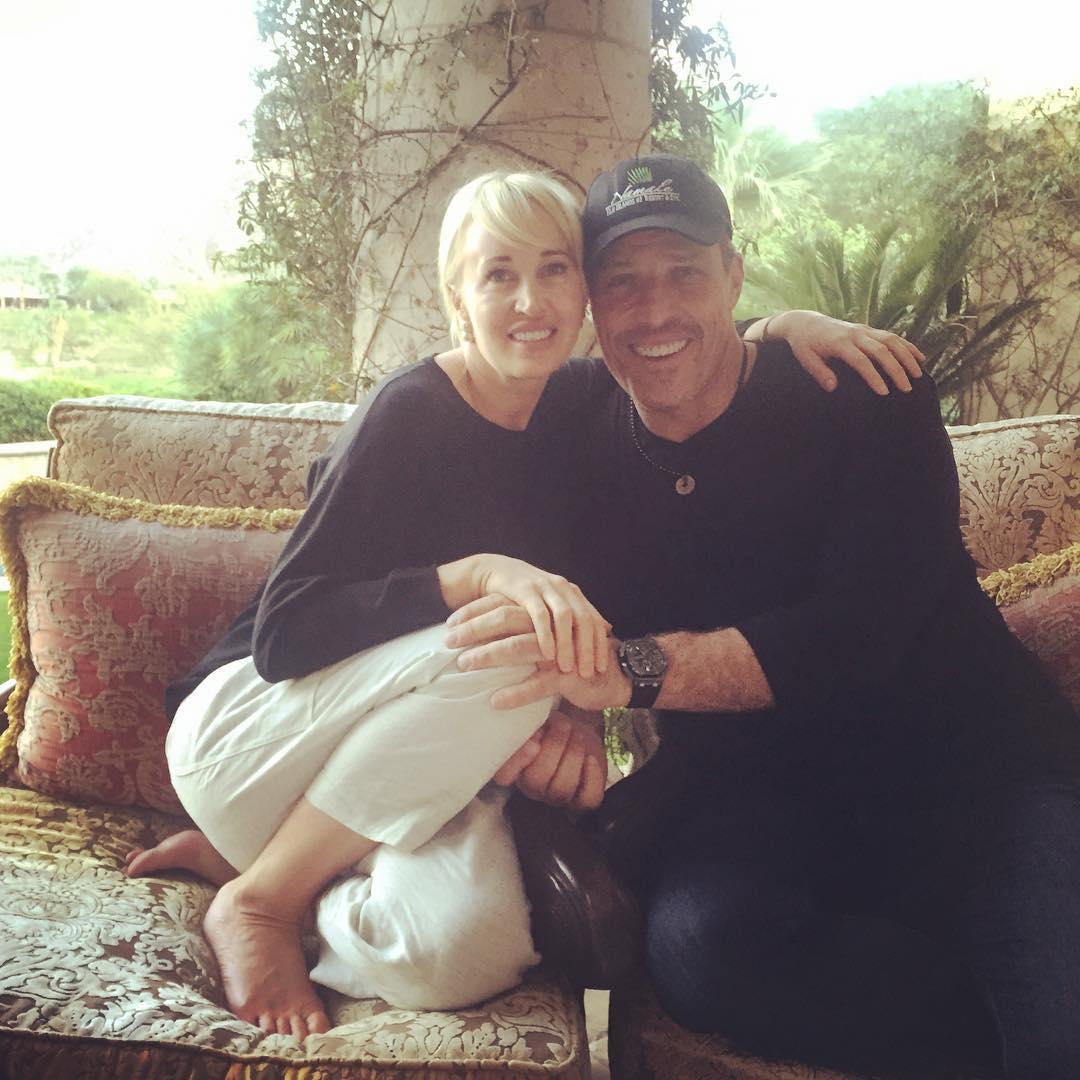 آنتونی رابینز و همسرش
