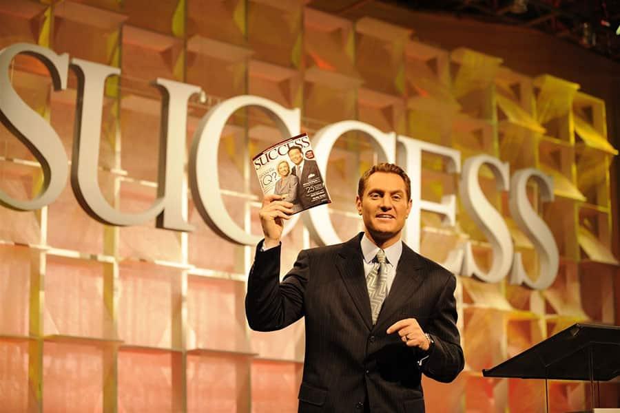 دارن هاردی در مجله SUCCESS