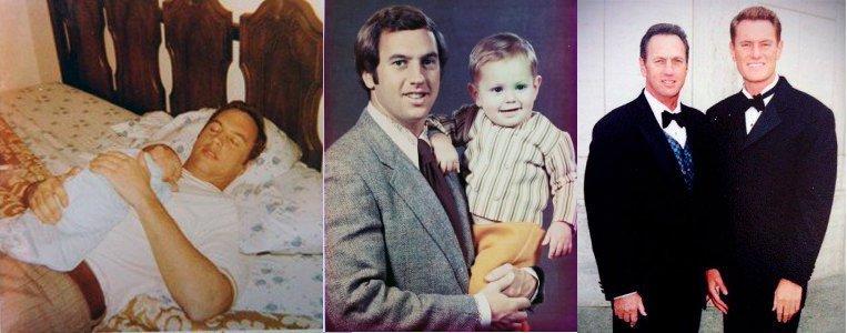 دارن هاردی و پدرش