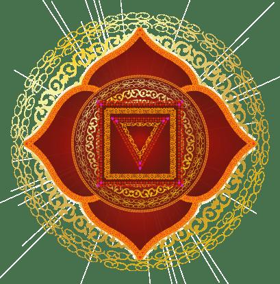 نماد چاکرای اول یا چاکرای ریشه